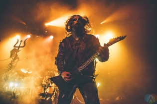 VANCOUVER, BC - MARCH 12: Watain performs at Rickshaw Theatre in Vancouver on March 12, 2018. (Photo: Tim Nguyen/Aesthetic Magazine)