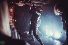 TORONTO, ON - APRIL 15: 3Teeth performs at Velvet Underground in Toronto on April 15, 2018. (Photo: Sarah McNeil/Aesthetic Magazine)