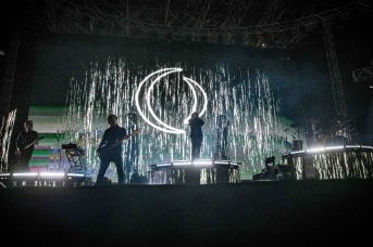 INDIO, CA - APRIL 22: A Perfect Circle performs at Coachella at Empire Polo Club in Indio, California on April 22, 2018. (Photo: Mark Ostrom)