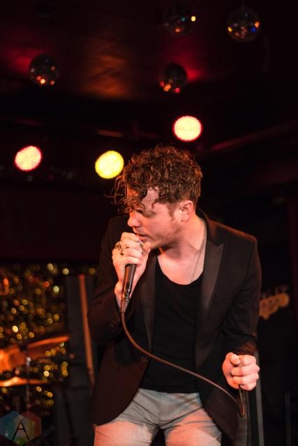 TORONTO, ON - APRIL 10: Anderson East performs at Horseshoe Tavern in Toronto on April 10, 2018. (Photo: Morgan Hotston/Aesthetic Magazine)