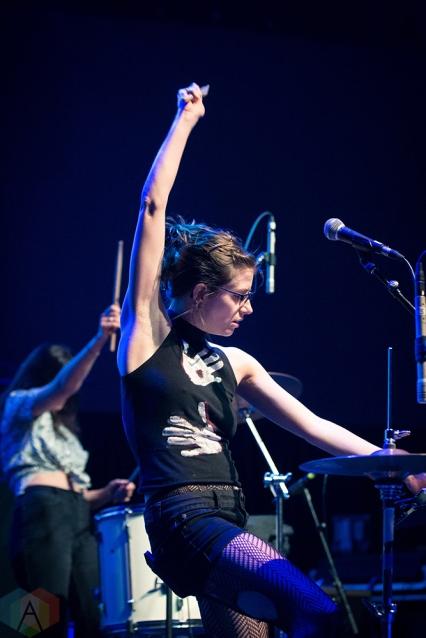 TORONTO, ON - APRIL 08: Bodega performs at Rebel in Toronto on April 08, 2018. (Photo: Brendan Albert/Aesthetic Magazine)
