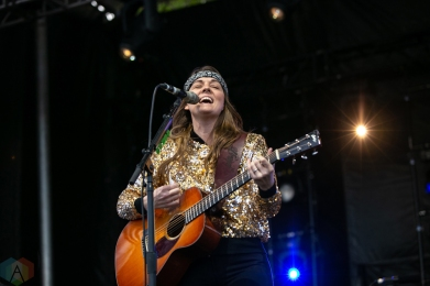 Charleston, NC - APRIL 21: Brandi Carlile performs at High Water Festival in Charleston, South Carolina on April 21, 2018. (Photo: Kari Terzino/Aesthetic Magazine)