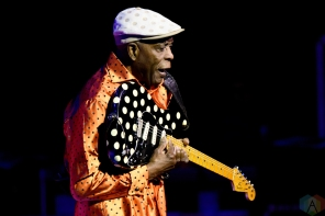 TORONTO, ON - APRIL 14: Buddy Guy performs at Massey Hall in Toronto on April 14, 2018. (Photo: Julian Avram/Aesthetic Magazine)