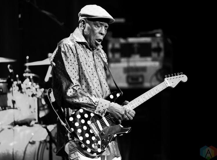 TORONTO, ON - APRIL 14: Buddy Guy performs at Massey Hall in Toronto on April 14, 2018. (Photo: Julian Avram/Aesthetic Magazine)