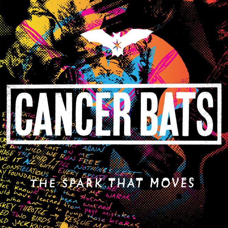 Cancer Bats surprise released their new album, The Spark That Moves, on April 20th.