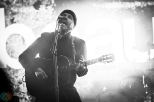 TORONTO, ON - APRIL 05 - City And Colour performs at Yonge-Dundas Square in Toronto on April 05, 2018. (Photo: Brendan Albert/Aesthetic Magazine)