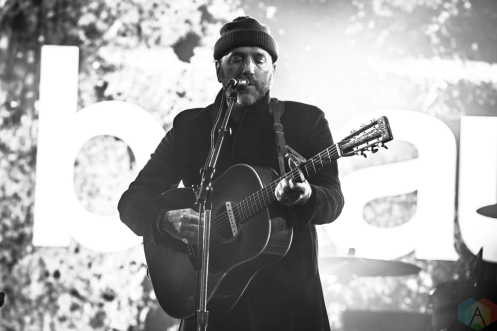 TORONTO, ON - APRIL 05 - City And Colour performs at Yonge-Dundas Square in Toronto on April 05, 2018. (Photo: Brendan Albert/Aesthetic Magazine)