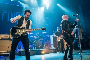 CALGARY, AB - APRIL 27: Finger Eleven performs at Palace Theatre in Calgary on April 27, 2018. (Photo: Adriana Malinowska/Aesthetic Magazine)