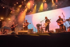 INDIO, CA - APRIL 21: Fleet Foxes performs at Coachella at Empire Polo Club in Indio, California on April 21, 2018. (Photo: Mark Ostrom)