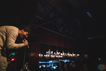 SACRAMENTO, CA - APRIL 06: Foxing performs at Ace of Spades in Sacramento, California on April 06, 2018. (Photo: Kyle Simmons/Aesthetic Magazine)