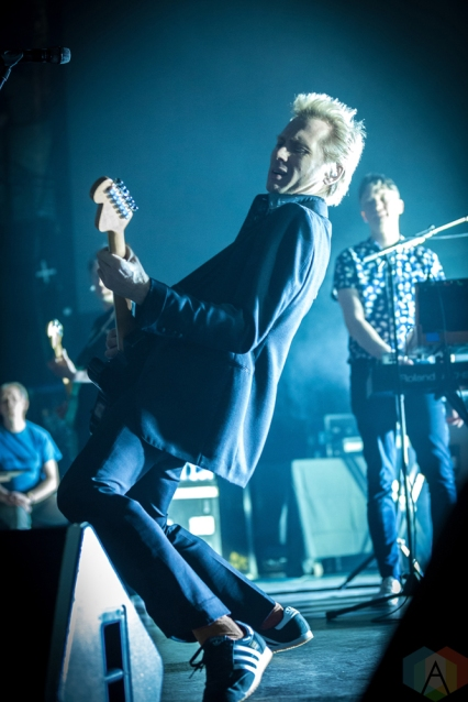 TORONTO, ON - APRIL 08: Franz Ferdinand performs at Rebel in Toronto on April 08, 2018. (Photo: Brendan Albert/Aesthetic Magazine)