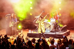 LOS ANGELES, CA - APRIL 16: Greta Van Fleet performs at John Anson Ford Theatre in Los Angeles, California on April 16, 2018. (Photo: Melanie Escombe/Aesthetic Magazine)