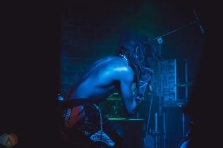 TORONTO, ON - APRIL 15: Ho99o9 performs at Velvet Underground in Toronto on April 15, 2018. (Photo: Sarah McNeil/Aesthetic Magazine)