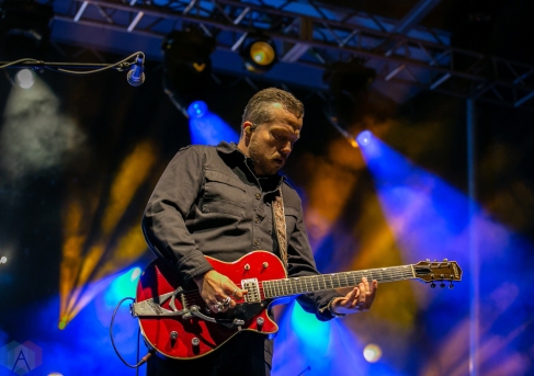 Charleston, NC - APRIL 21: Jason Isbell performs at High Water Festival in Charleston, South Carolina on April 21, 2018. (Photo: Kari Terzino/Aesthetic Magazine)
