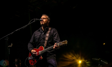 Charleston, NC - APRIL 21: Jason Isbell performs at High Water Festival in Charleston, South Carolina on April 21, 2018. (Photo: Kari Terzino/Aesthetic Magazine)