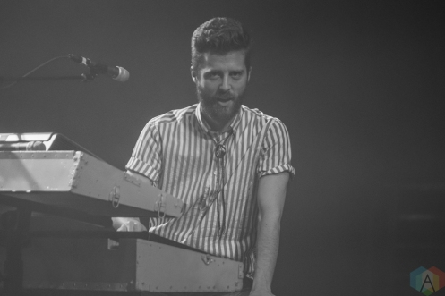 PHILADELPHIA, PA - APRIL 10: Jukebox The Ghost performs at Union Transfer in Philadelphia on April 10, 2018. (Photo: Al Mannarino/Aesthetic Magazine)