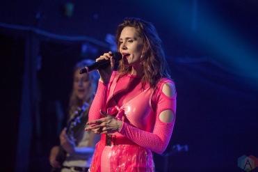 TORONTO, ON - APRIL 23: Kate Nash performs at The Mod Club in Toronto on April 23, 2018. (Photo: Katrina Lat/Aesthetic Magazine)