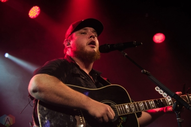 VANCOUVER, BC - APRIL 23: Luke Combs performs at Commodore Ballroom in Vancouver on April 23, 2018. (Photo: Emily Chin/Aesthetic Magazine)