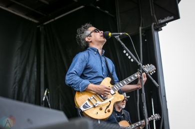 Charleston, NC - APRIL 22: M. Ward performs at High Water Festival in Charleston, South Carolina on April 22, 2018. (Photo: Kari Terzino/Aesthetic Magazine)