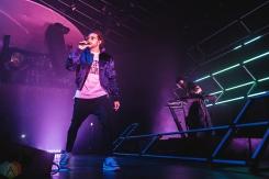 TORONTO, ON - APRIL 04: Majid Jordan performs at Rebel in Toronto on April 04, 2018. (Photo: Anton Mak/Aesthetic Magazine)