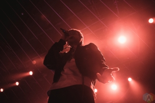 TORONTO, ON - APRIL 04: Majid Jordan performs at Rebel in Toronto on April 04, 2018. (Photo: Anton Mak/Aesthetic Magazine)