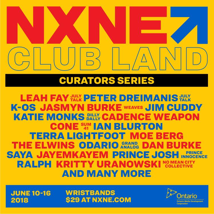 NXNE Club Land 2018