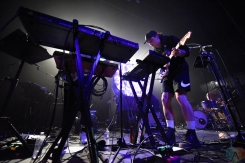LOS ANGELES, CA - APRIL 12: Sir Sly performs at Fonda Theatre in Los Angeles, California on April 12, 2018. (Photo: Matt Harding/Aesthetic Magazine)