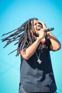 INDIO, CA - APRIL 20: Skip Marley performs at Coachella at Empire Polo Club in Indio, California on April 20, 2018. (Photo: Mark Ostrom)
