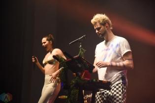 TORONTO, ON - APRIL 28: Sofi Tukker performs at Danforth Music Hall in Toronto on April 28, 2018. (Photo: Jaime Espinoza/Aesthetic Magazine)