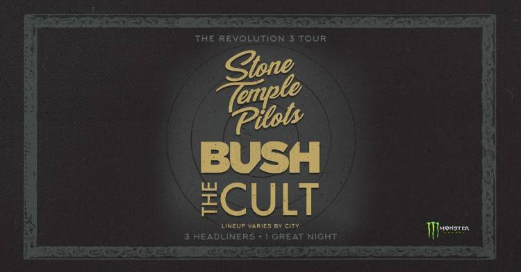 Stone Temple Pilots 2018 Tour