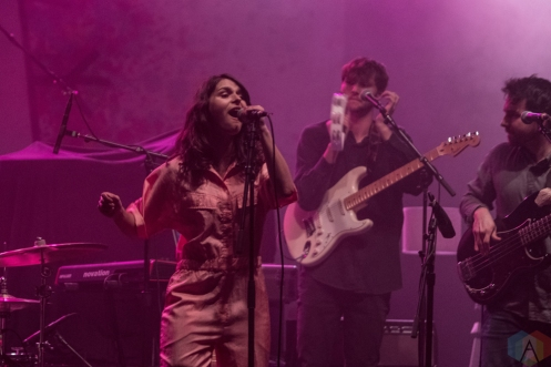 PHILADELPHIA, PA - APRIL 10: The Greeting Committee performs at Union Transfer in Philadelphia on April 10, 2018. (Photo: Al Mannarino/Aesthetic Magazine)