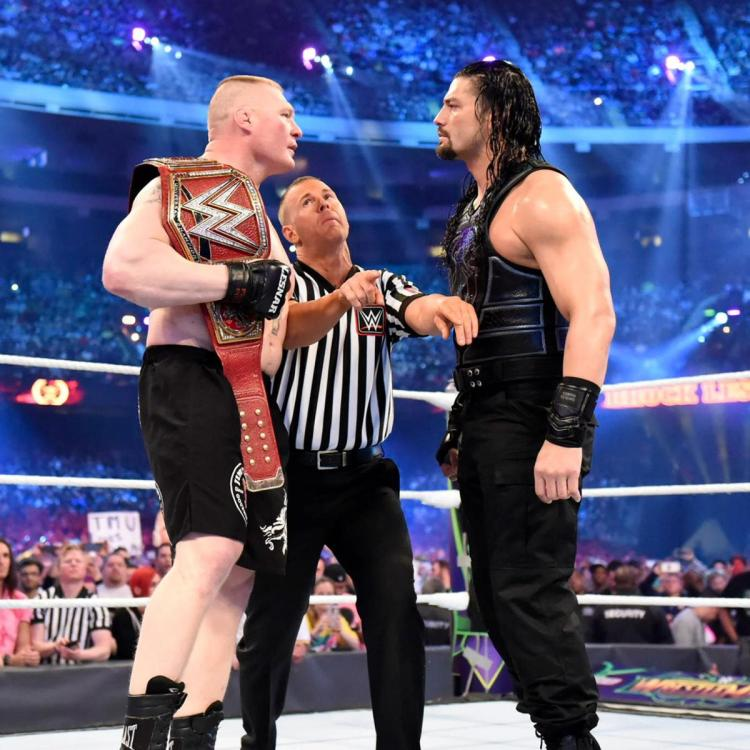 Wrestlemania 34 - Lesnar vs Reigns