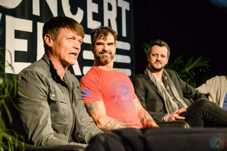 NEW YORK, NY – APRIL 30 - 3 Doors Down attends the Live Nation National Concert Week press day at Hammerstein Ballroom in New York City on April 30, 2018. (Photo: Alex Bear/Aesthetic Magazine)