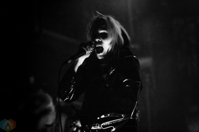 TORONTO, ON - MAY 11: Alice Glass performs at The Mod Club in Toronto on May 11, 2018. (Photo: Brendan Albert/Aesthetic Magazine)
