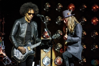 TORONTO, ON - MAY 01: Alice In Chains performs at Massey Hall in Toronto on May 01, 2018. (Photo: David McDonald/Aesthetic Magazine)