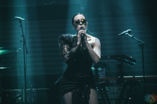 TORONTO, ON - MAY 11: Allie X performs at iHeartRadio FanFest in Toronto on May 11, 2018. (Photo: Nicole De Khors/Aesthetic Magazine)