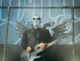 TORONTO, ON - MAY 29: Behemoth performs at Budweiser Stage in Toronto on May 29, 2018. (Photo: David Scala/Aesthetic Magazine)