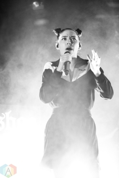 TORONTO, ON - MAY 15: Bishop Briggs performs at The Opera House in Toronto on May 15, 2018. (Photo: Brendan Albert/Aesthetic Magazine)