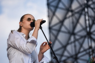 TORONTO, ON - MAY 26: Charlotte Day Wilson performs at CBC Music Festival at Echo Beach in Toronto on May 26, 2018. (Photo: Jaime Espinoza/Aesthetic Magazine)