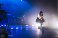 TORONTO, ON - MAY 19: CHVRCHES performs at Danforth Music Hall in Toronto on May 19, 2018. (Photo: Josh Moody/Aesthetic Magazine)
