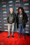 NEW YORK, NY – APRIL 30 - Ed Kowalczyk of LIVE (left) and Adam Duritz of Counting Crows attend the Live Nation National Concert Week press day at Hammerstein Ballroom in New York City on April 30, 2018. (Photo: Alex Bear/Aesthetic Magazine)