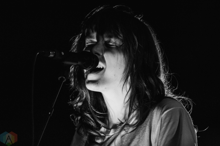 CHICAGO, IL - MAY 21: Courtney Barnett performs at Preston Bradley Hall in Chicago on May 21, 2018. (Photo: Kris Cortes/Aesthetic Magazine)