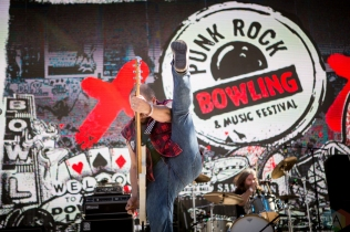 LAS VEGAS, NV - MAY 26: D.O.A. performs at Punk Rock Bowling in Las Vegas on May 26, 2018. (Photo: Meghan Lee/Aesthetic Magazine)