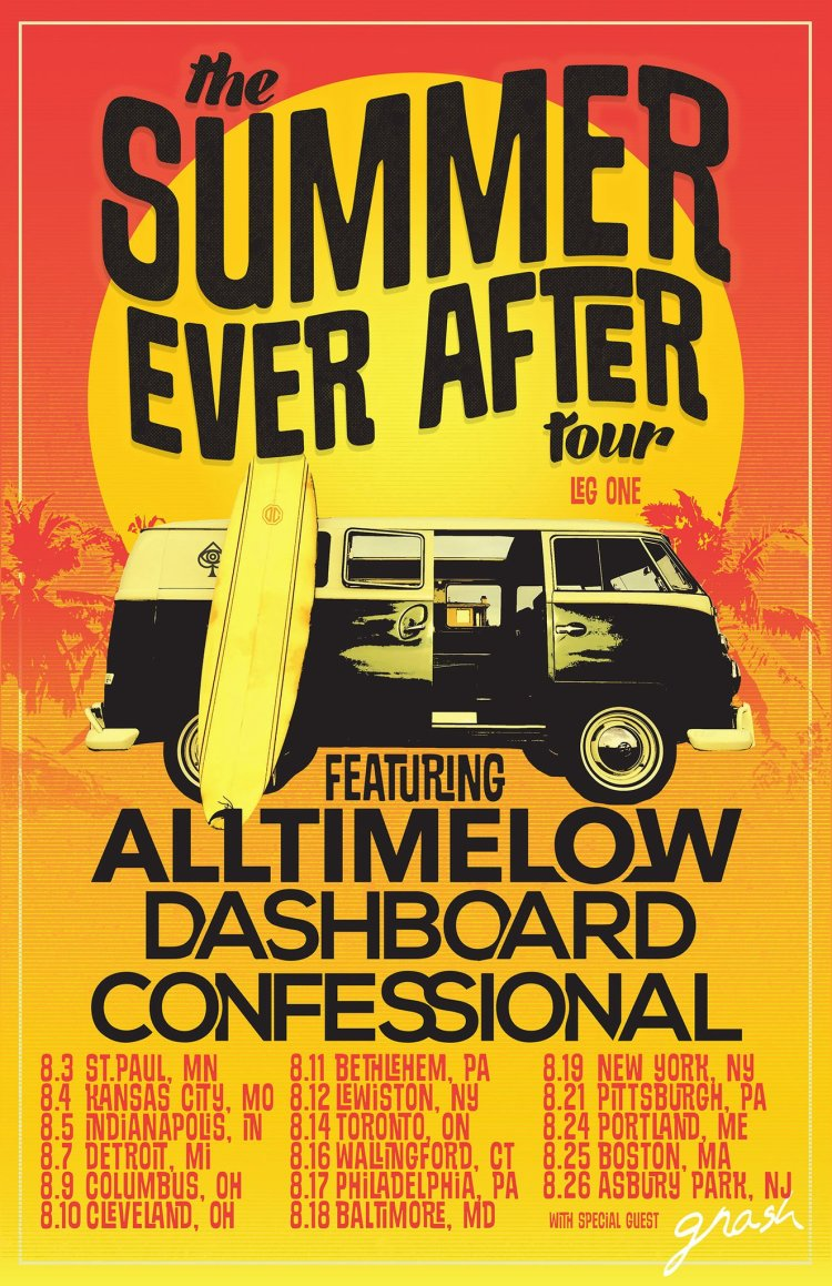 Dashboard Confessional and All Time Low 2018 Tour