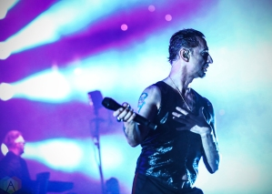 ANAHEIM, CA - MAY 22: Depeche Mode performs at Honda Center in Anaheim, California on May 22, 2018. (Photo: Melanie Escombe/Aesthetic Magazine)