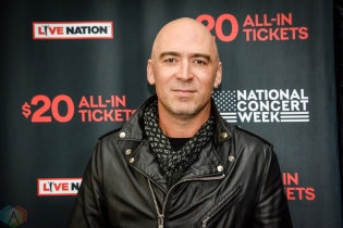 NEW YORK, NY – APRIL 30 - Ed Kowalczyk of LIVE attends the Live Nation National Concert Week press day at Hammerstein Ballroom in New York City on April 30, 2018. (Photo: Alex Bear/Aesthetic Magazine)