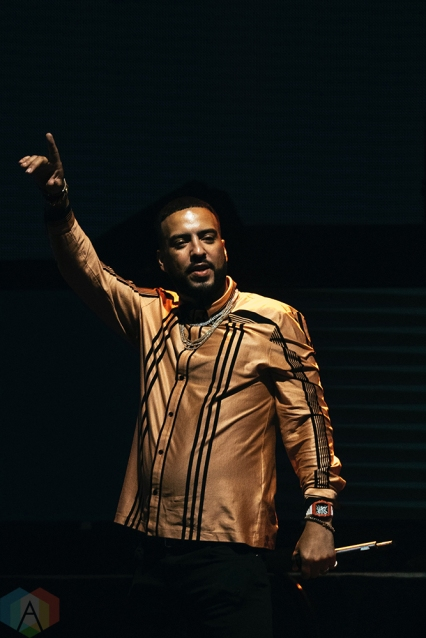 TORONTO, ON - MAY 11: French Montana performs at iHeartRadio FanFest in Toronto on May 11, 2018. (Photo: Nicole De Khors/Aesthetic Magazine)