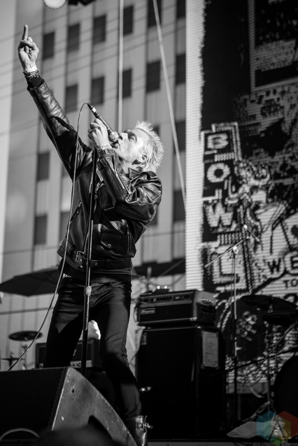 LAS VEGAS, NV - MAY 26: GBH performs at Punk Rock Bowling in Las Vegas on May 26, 2018. (Photo: Meghan Lee/Aesthetic Magazine)