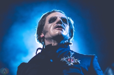 DETROIT, MI - MAY 12: Ghost performs at The Fillmore in Detroit on May 12, 2018. (Photo: Taylor Ohryn/Aesthetic Magazine)