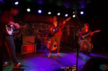 TORONTO, ON - MAY 13: Goodbye Honolulu performs at Horseshoe Tavern in Toronto on May 13, 2018. (Photo: Theo Rallis/Aesthetic Magazine)